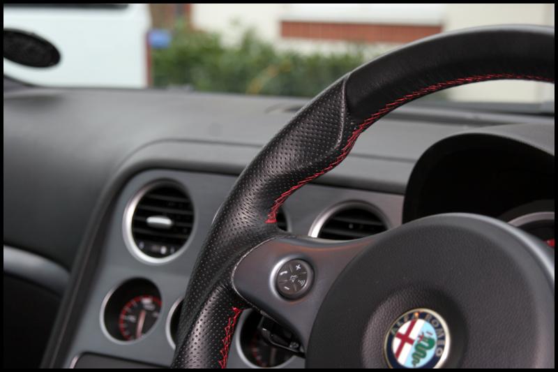 Alfa Romeo 159 Car Valeting Surrey All That Gleams (19)