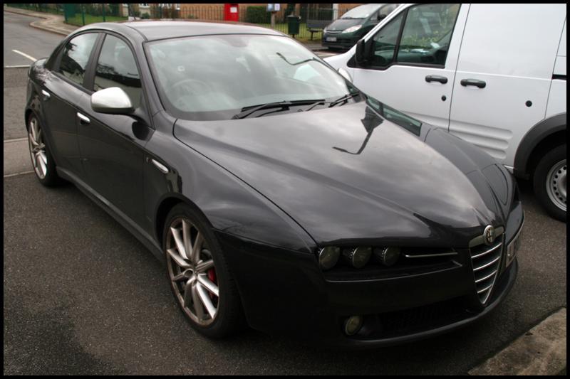 Alfa Romeo 159 Car Valeting Surrey All That Gleams (3)