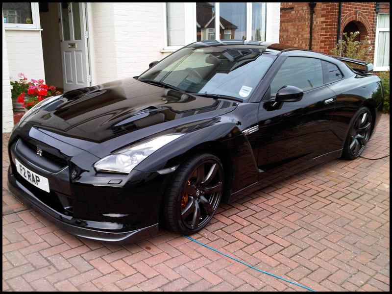 Nissan GTR Detail by All That Gleams
