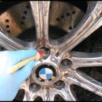 BMW M5 Wheel Cleaning