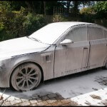 BMW M5 Snow Foam