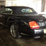 Bentley Soft Top Cleaning
