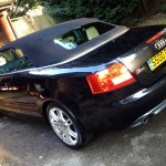 Audi Soft Top Cleaning