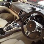 Porsche Cayenne Car Interior Valet Surrey