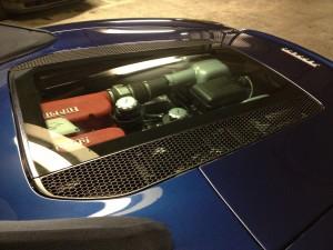 Ferrari car valeting