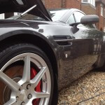 Aston Martin V8 Vantage Used Car Correction Detail