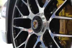 Porsche Turbo S Wheel After New Car Paint Protection Detail