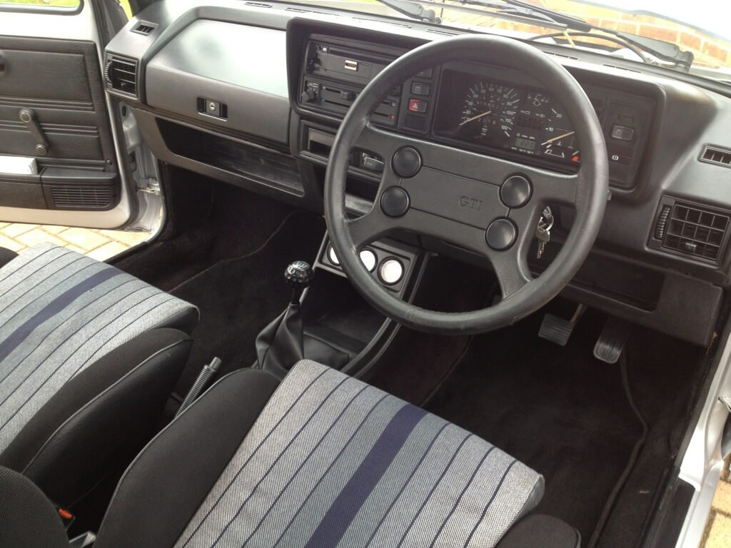 Vw golf mk1 gti interior images for Interior volkswagen golf