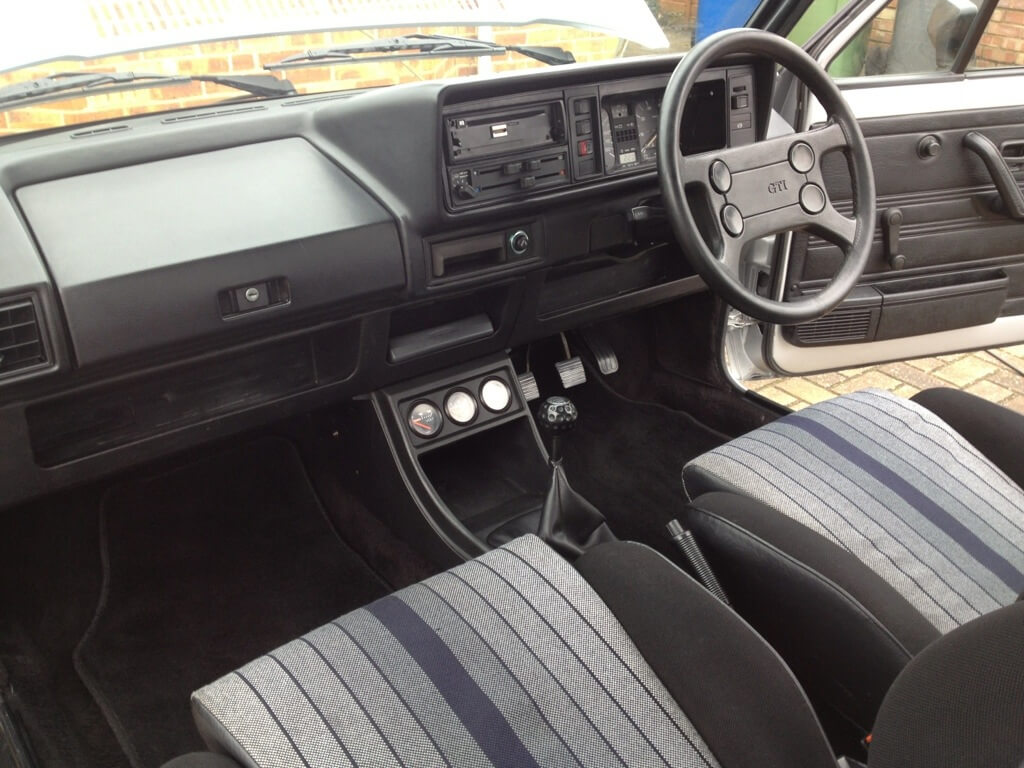 Vw golf mk1 gti interior the image kid for Interior volkswagen golf