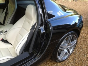 Mercedes SLS Gold Valet Car Valet Surrey