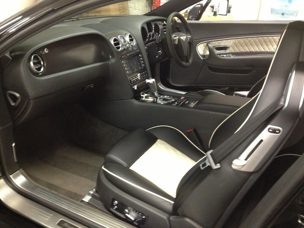 Bentley Continental Supersports Alcantara Cleaning