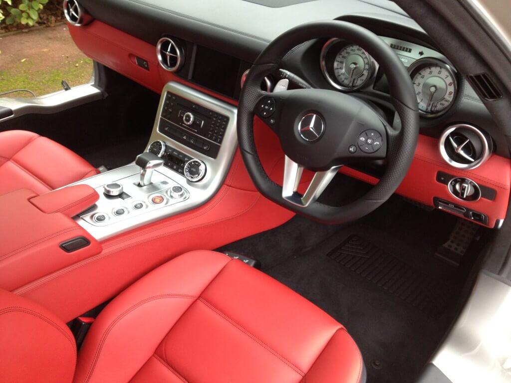 Mercedes SLS Interior Valet