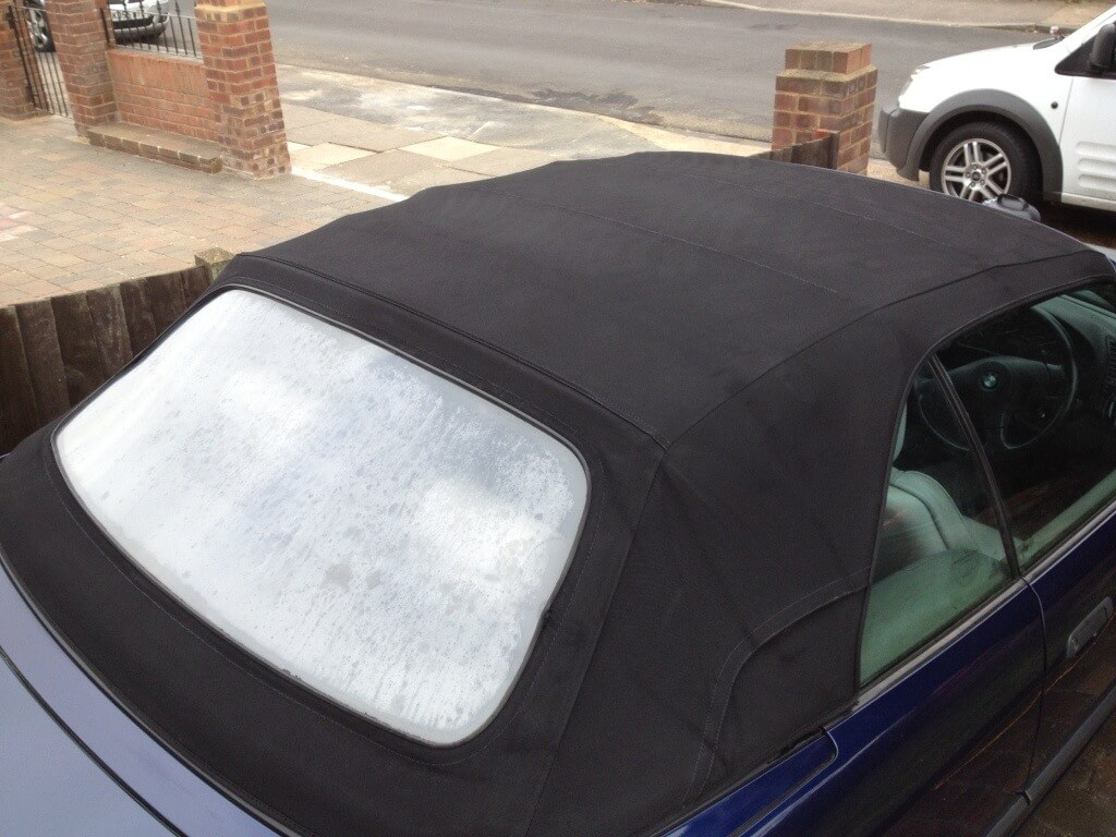 Bmw E36 Convertible Professional Convertible Roof Cleaning