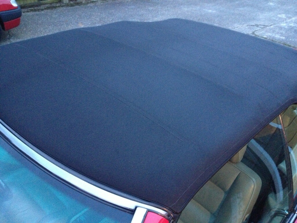 steam cleaning mercedes e320 cabriolet roof all that gleams. Black Bedroom Furniture Sets. Home Design Ideas