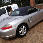Boxster Soft Top Cleaning