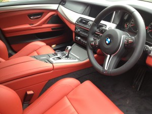 BMW M5 Car Interior Cleaning Routine