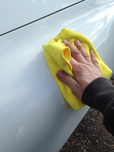 clean your car after detailing