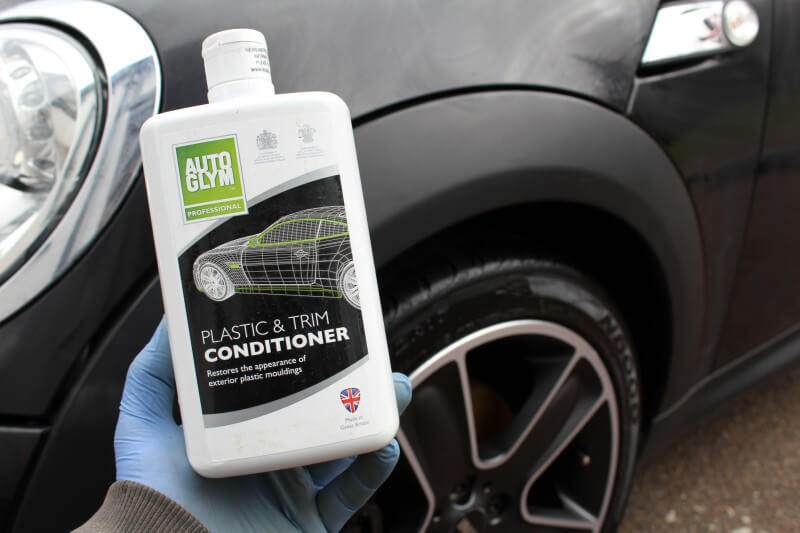 autoglym plastic conditioner bumper trim care review
