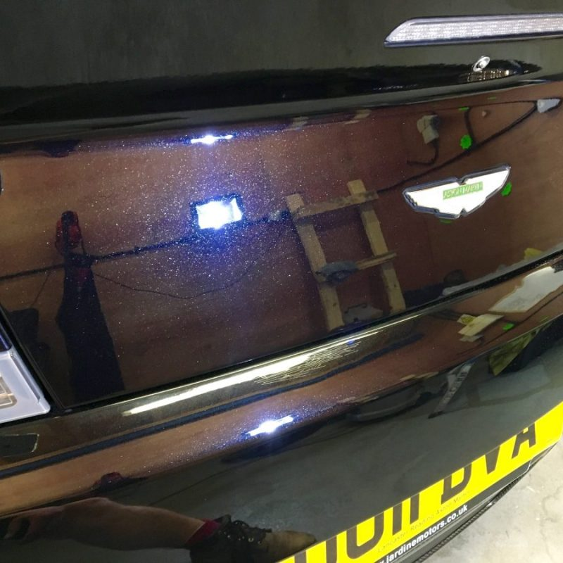 Aston Martin Vantage S Detailing Ceramic Paint Protection