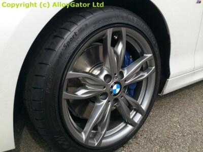 alloy gator fitted to bmw