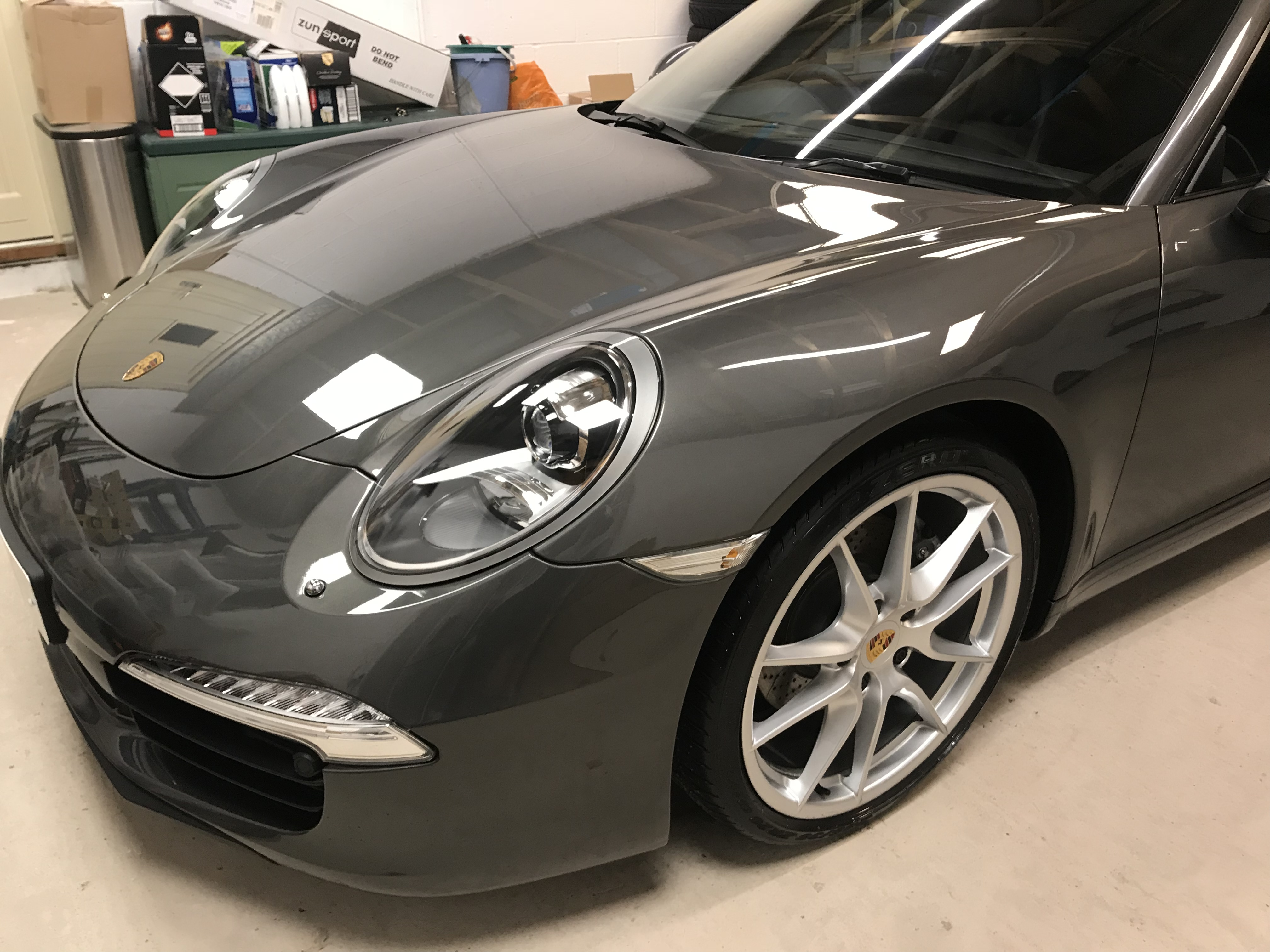 New Car Protection Package carried out on Porsche 911